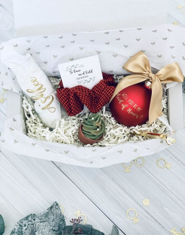 1Bridesmaid Gift Basket Style #888346726