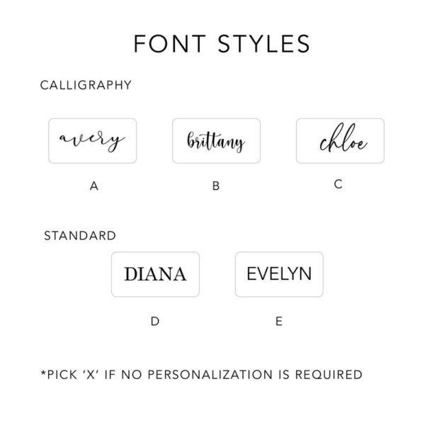 Custom Font Styles