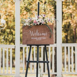 Rustic Boho Decor Wedding Welcome Sign