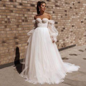 Style #937999489 - Sweetheart Lace Wedding Dress