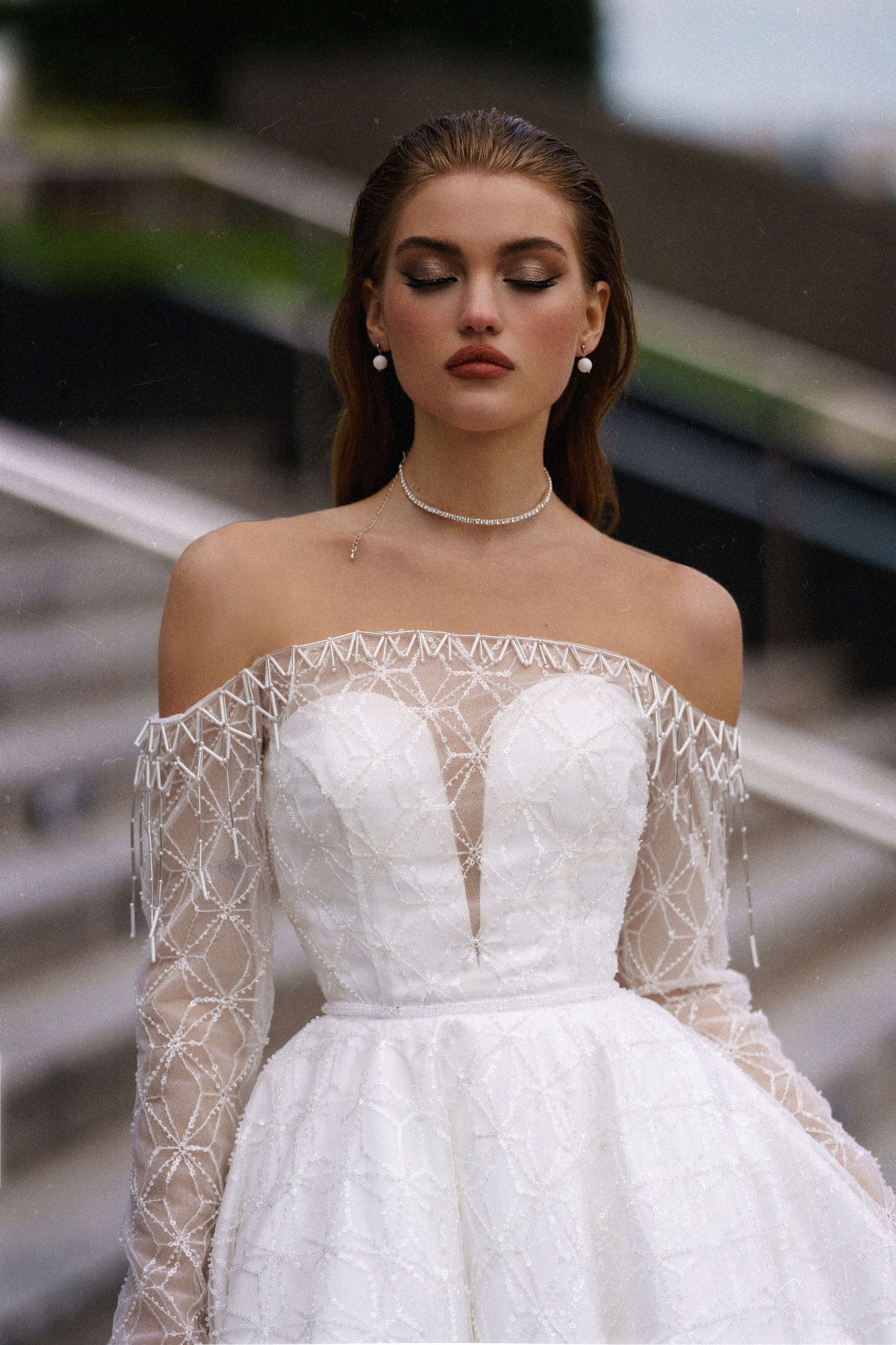 Ippi from the Oh My Bride! Collection by Rara Avis