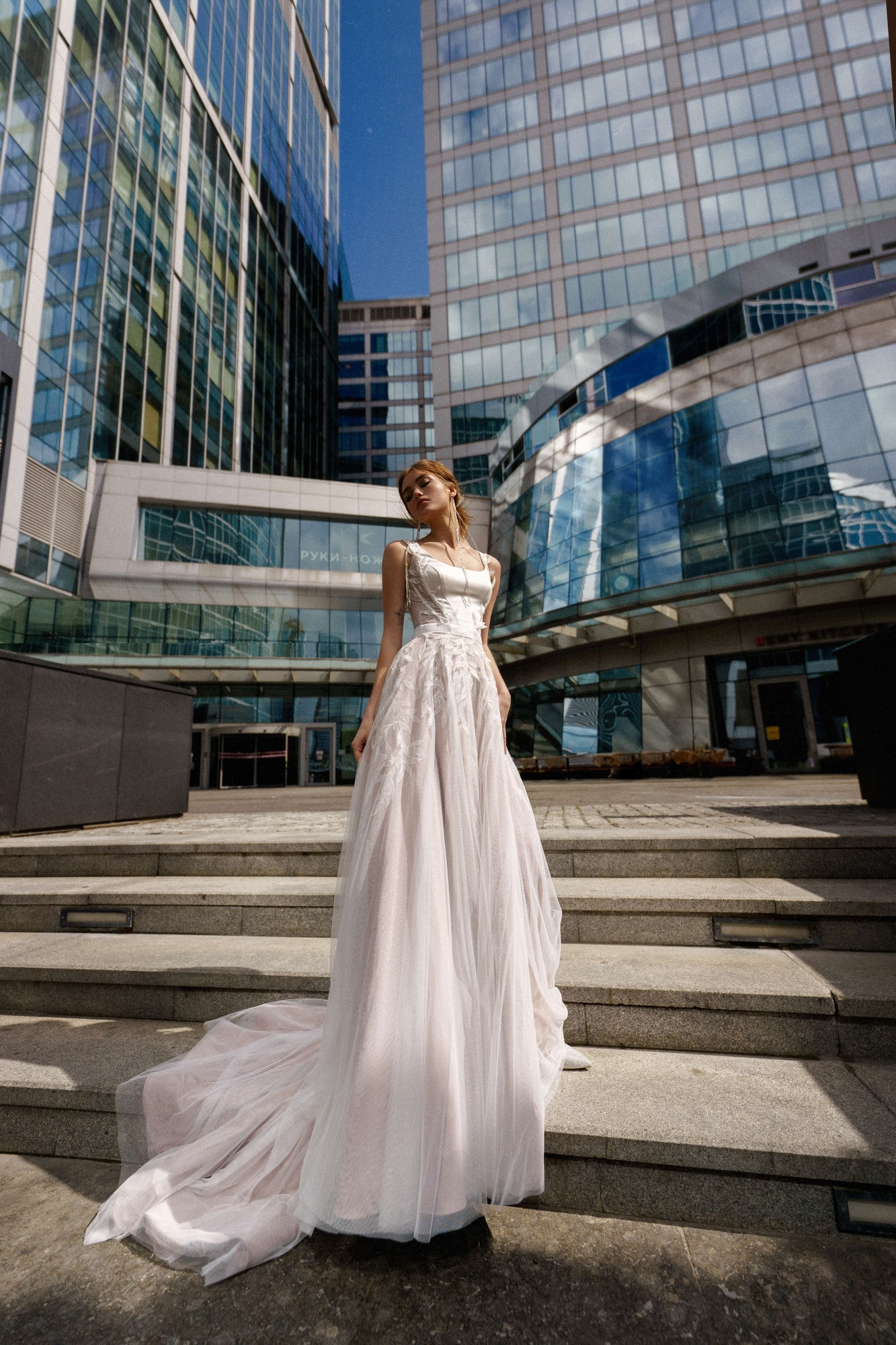 Lyanda from the Oh My Bride! Collection by Rara Avis
