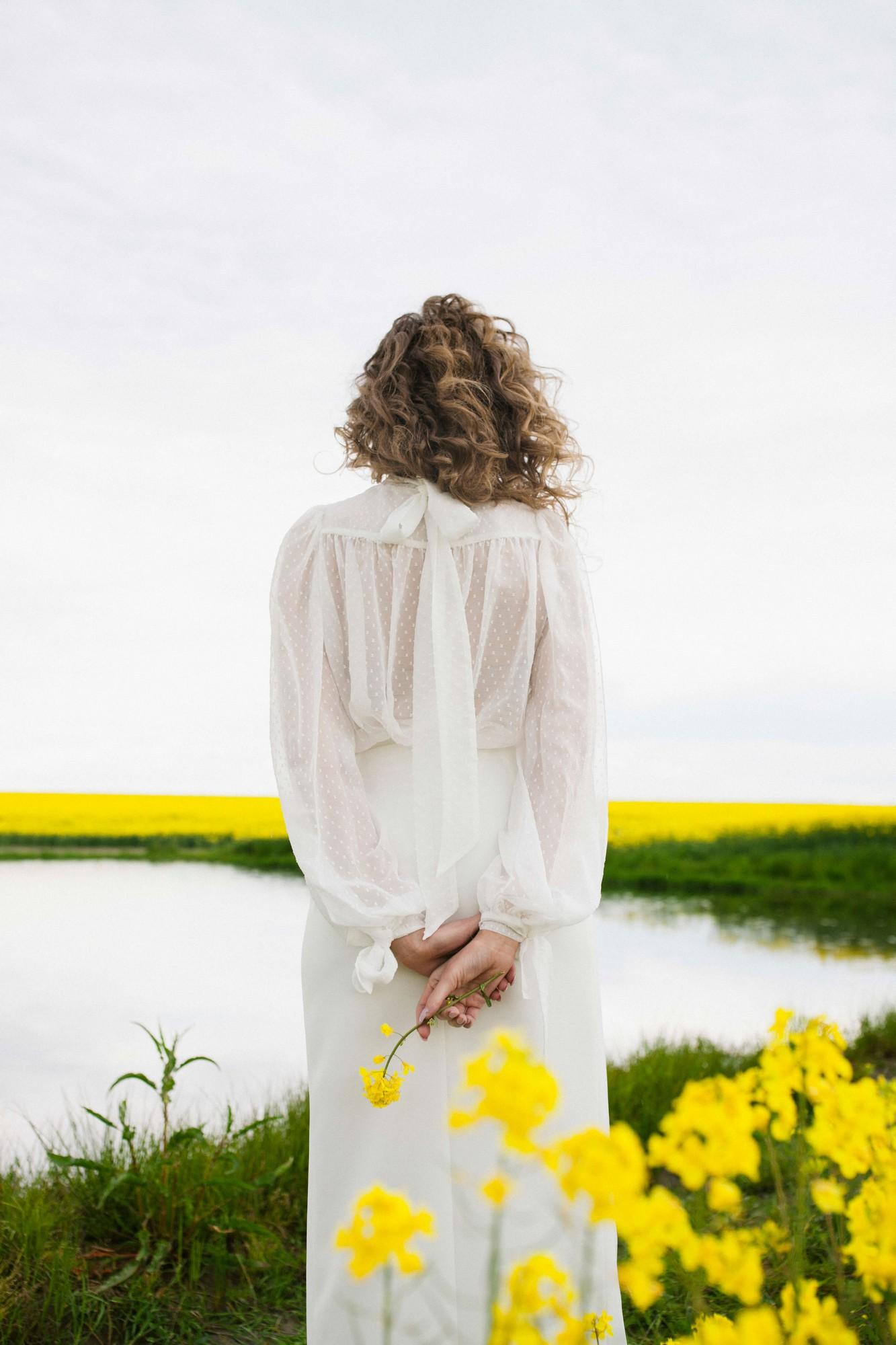 Jani blouse + Donatella